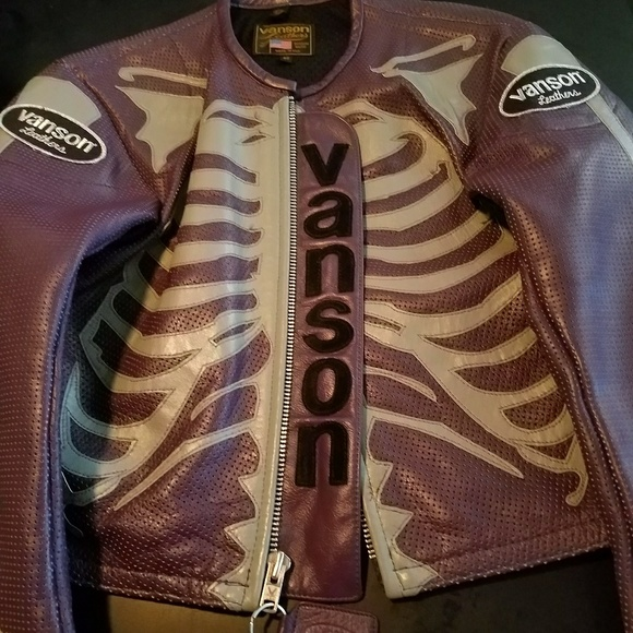 76e112130 Custom Vanson Bones Jacket