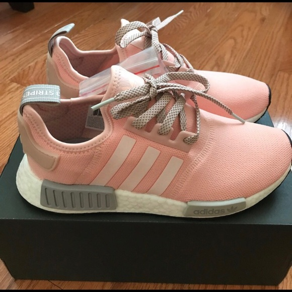 ecef22bcce87c adidas Shoes - Adidas NMD R1 pink and grey