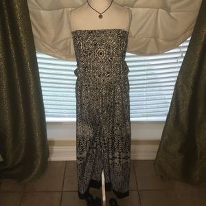 Other - NWT.  Black and White festival romper