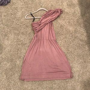 Mystic Dresses & Skirts - ✨One shoulder cotton pocket dress