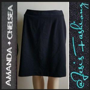 Amanda & Chelsea Dresses & Skirts - Amanda & Chelsea Black Pencil Skirt