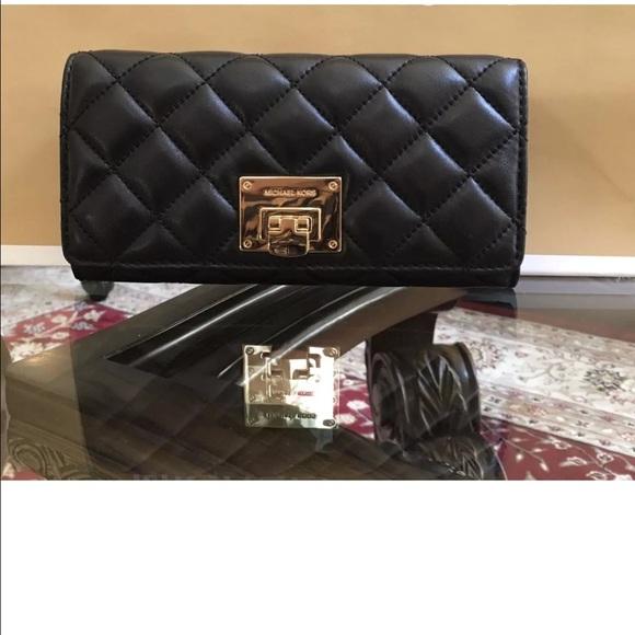6739534d341e MICHAEL Michael Kors Bags | New Michael Kors Astrid Quilted Carryall ...