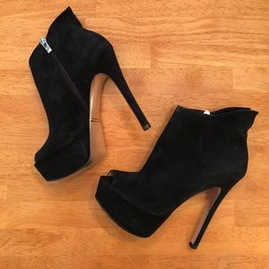 Chinese Laundry Shoes - Kristin Cavallari Lovely Ankle Bootie Peep Toe