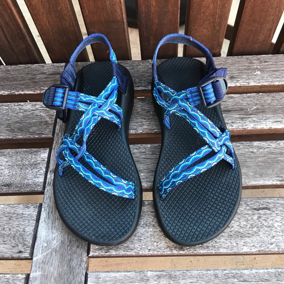 24 Off Chaco Shoes Zx 1 Classic Double Strap No Toe