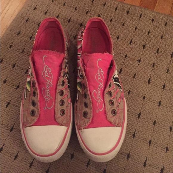 70 ed hardy shoes ed hardy slip on sneaker s