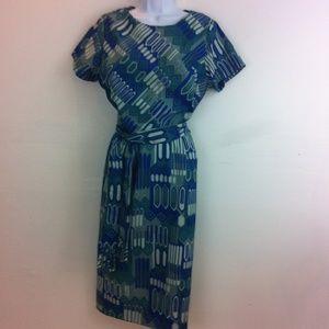 Lady Carol of New York Dresses & Skirts - 1950's tiki theme dress.