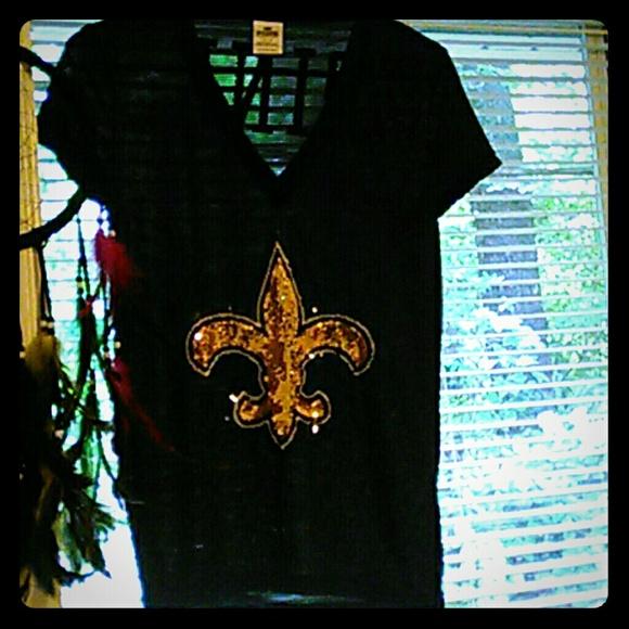 844a64a2 VS PINK New Orleans Saints NFL jersey