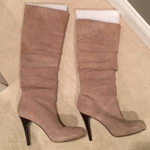 Banana Republic Shoes - Banana Republic Elizer Knee-high Boots Taupee