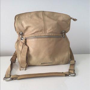 Adolfo Dominguez Handbags - TAN LEATHER ADOLFO DOMINGUEZ SHOULDER BAG