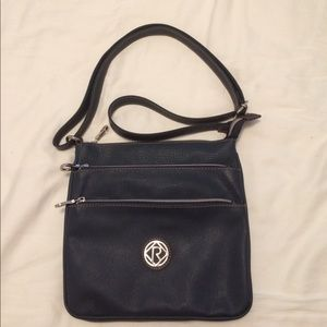 Relic Handbags - Relic navy blue cross body