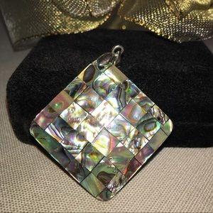 Jewelry - SALE. Genuine NZ Paua Abalone LG Pendant