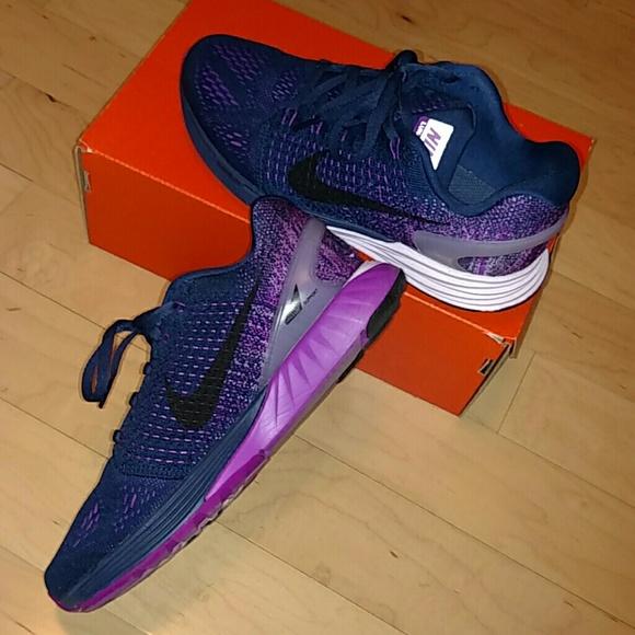 d12f3d8fcd565d Nike Shoes - Rare Nike Lunarglide 7 - Purple   Navy