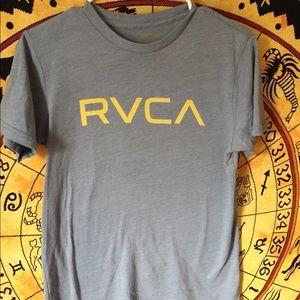 RVCA Tops - Light blue RVCA Tee