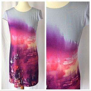 Tinley Road Dresses & Skirts - NWT - Tinley Road City Sky T-Shirt Dress