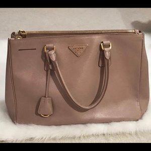 Prada Handbags - 100% Authentic Prada Saffiano Medium double zip t