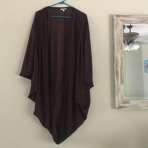 Cotton On Maroon Kimono