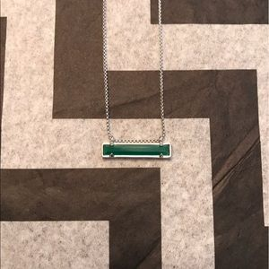 Kendra Scott Jewelry - Kendra Scott Leanor Necklace: Green with Silver