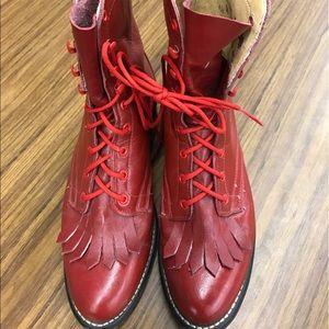 Laredo Shoes - Red Laredo Boots