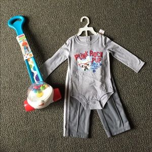 Koala Kids Other - NWT Boys Long Sleeve Onsie