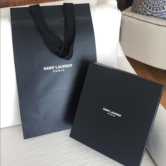 4373e94d850 Yves Saint Laurent Bags | New Authentic Ysl Large Shoe Box | Poshmark