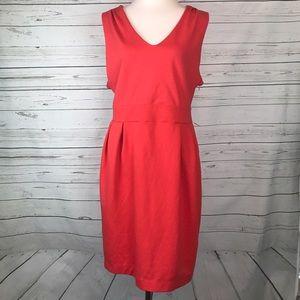 GAP Dresses & Skirts - GAP sheath dress plus size Career pink Coral