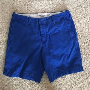 Abercrombie & Fitch Other - Abercrombie & Fitch Blue Khaki Shorts