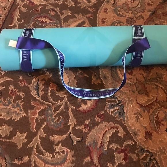 63 Off Ivivva Other Ivivva Yoga Mat With Rein Your Mat