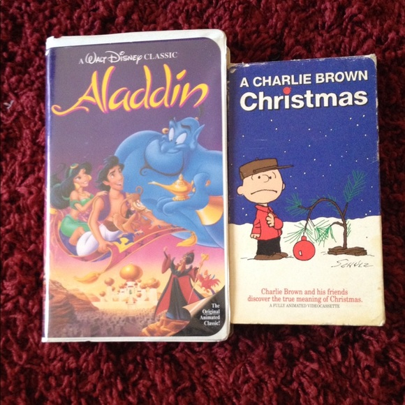 A Charlie Brown Christmas Book.Aladdin A Charlie Brown Christmas Vhs