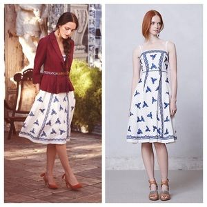 Anthropologie Dresses & Skirts - NWT Anthropologie lidia dress embroidered, size 2