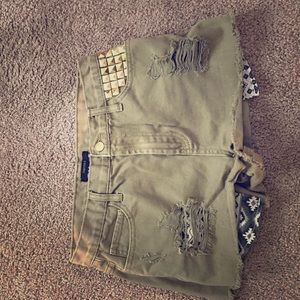forever 21 size 28 high waisted shorts