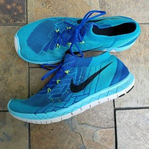 Nike Other - Nike Free 3.0 Flyknit Running Shoes