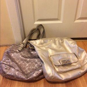 Coach Handbags - Coach handbag bundle two handbags