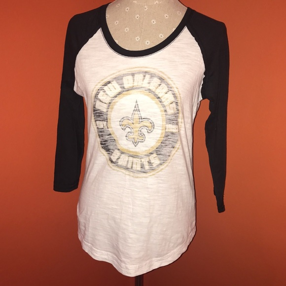 75 off nfl team apparel tops nfl new orleans saints for Shirt printing new orleans