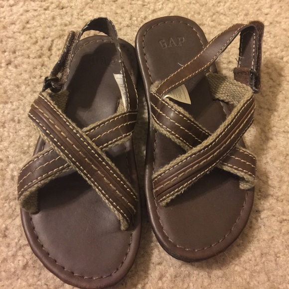 Baby Gap Shoes | Preowned Boys Toddler Brown Sandal 11 ...