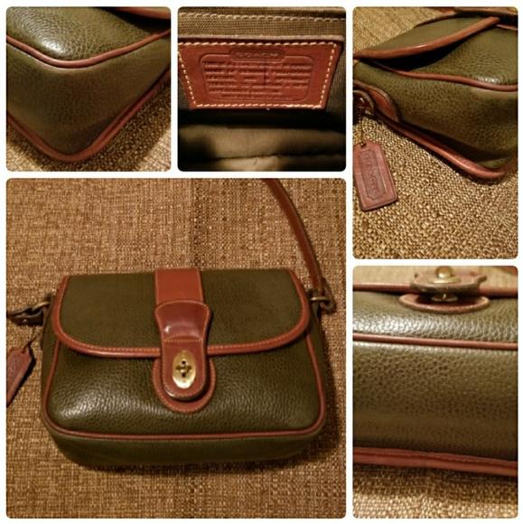 ea91c9b978ad Coach Handbags - Vintage Coach Sheridan Mayfield Flap Bag