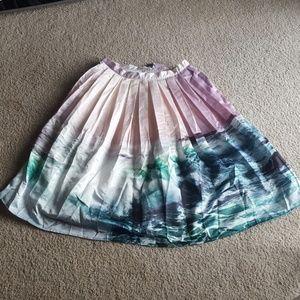 Chicwish Dresses & Skirts - Chicwish XXL Coastal Demeanor Midi Skirt NWT