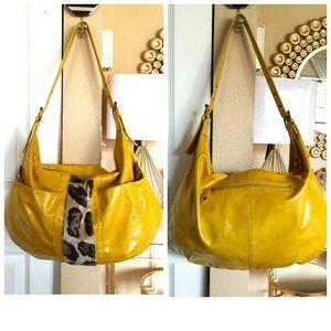Chinese Laundry Handbags - Huge XL Mustard Yellow Chinese Laundry Hobo Bag