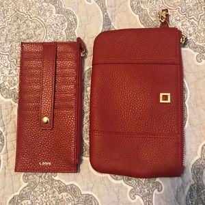 Lodis Handbags - NWOT Lodis clutch and credit card holder