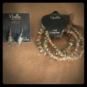 Jewelry - Earrings and bracelet