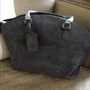 Diane von Furstenberg Handbags - DVF Diane Von Fustenberg suede weekender /bag 🌊