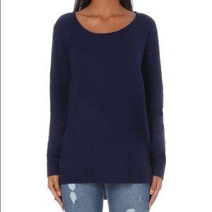 The Kooples Sweaters - The Kooples 100% Cashmere Scoop Neck Black Sweater