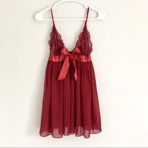 Other - Red Lingerie Nightie 😍