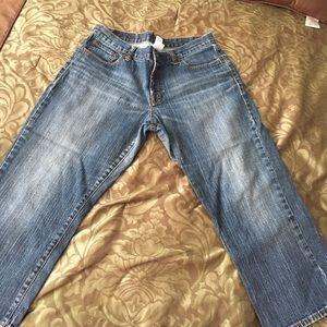 Lucky Brand classic crop fit. Size 32