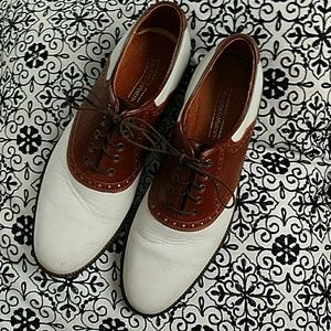 Johnston & Murphy Other - Johnston & Murphy spats oxfords shoes 10.5