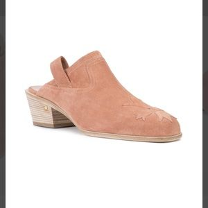 Laurence Decade Shoes - FLASH SALE Laurence Dacade Suede Nature Mules