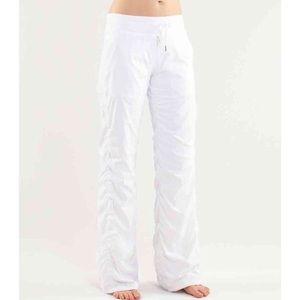 lululemon athletica Pants - NWT lululemon studio pant II lined white size 8
