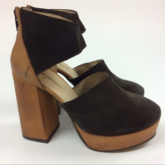 9f4ea711197 Free People Shoes - Free People Luxor Platform Heels Euro 37