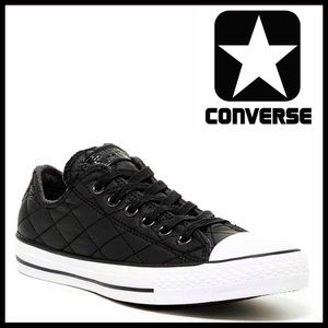 Converse Shoes - CONVERSE SNEAKERS Low Tops Quilted Oxfords