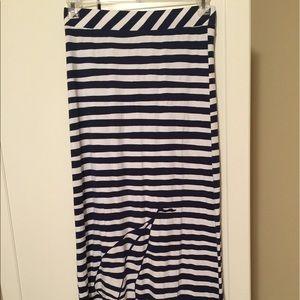 Lilly Pulitzer nautical maxi skirt like new