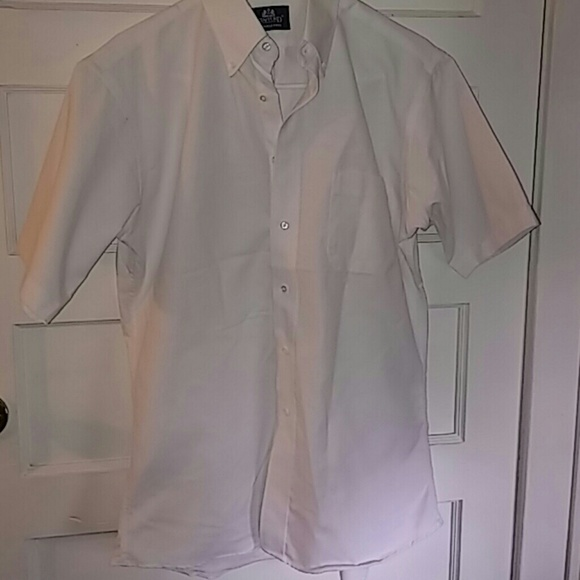 72 off stafford other nice new stafford dress work for Stafford white short sleeve dress shirts